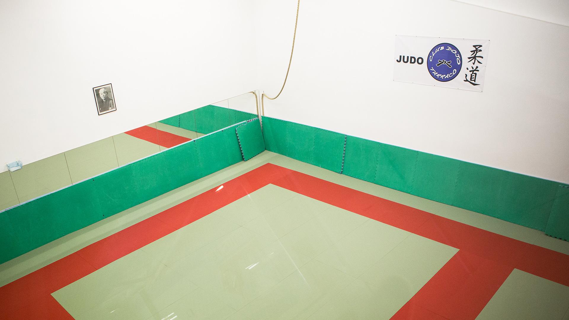 Capçalera Sala Club Judo Dojo Tarraco